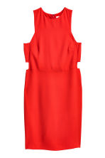 Cut-out dress - Red - Ladies | H&M CN 2