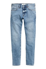 Skinny Regular Jeans - 浅牛仔蓝 -  | H&M CN 2