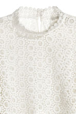 Lace blouse - White - Ladies | H&M GB 4