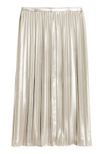Pleated skirt - Silver - Ladies | H&M CN 2
