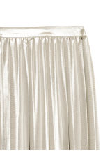 Pleated skirt - Silver - Ladies | H&M CN 3