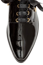 Patent leather Oxford shoes - Black - Ladies | H&M CA 3