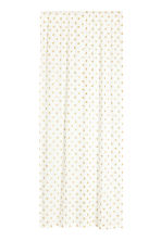 Star-print curtain length - White/Stars - Home All | H&M CN 1