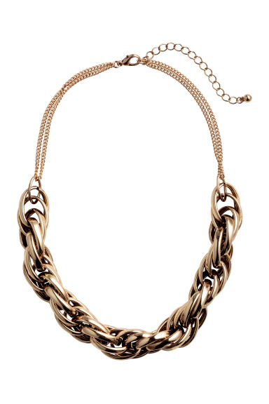 Short metal necklace - Gold - Ladies | H&M CN