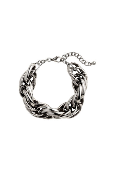 Metal bracelet - Silver - Ladies | H&M CA 1