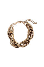 Metal bracelet - Gold - Ladies | H&M CN 1