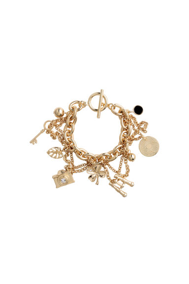 Charm bracelet - Gold - Ladies | H&M 1