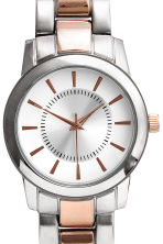 Watch - Rose gold/Silver - Ladies | H&M CN 3