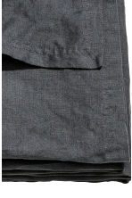 Washed linen bedspread - Anthracite grey - Home All | H&M CN 2