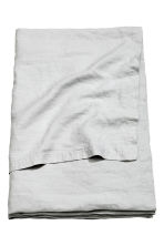 Washed linen bedspread - Light grey - Home All | H&M CN 2