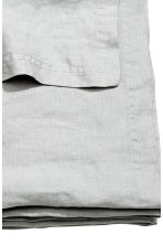 Washed linen bedspread - Light grey - Home All | H&M CN 3