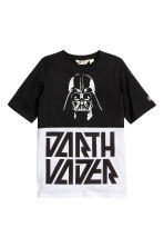 Printed T-shirt - Black/Star Wars - Kids | H&M CN 2