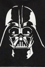 Printed T-shirt - Black/Star Wars - Kids | H&M CN 3
