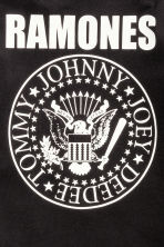 Printed T-shirt - Black/Ramones - Kids | H&M CN 4