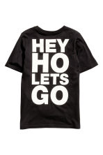 Printed T-shirt - Black/Ramones - Kids | H&M CN 3