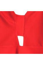 Sleeveless top - Red - Ladies | H&M CN 2
