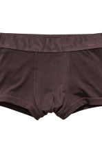 3-pack boxer shorts - White/Dark grey/Dark brown - Men | H&M CN 2