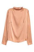 Silk blouse - Beige - Ladies | H&M CN 2