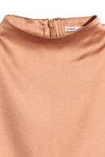 Silk blouse - Beige - Ladies | H&M CN 3