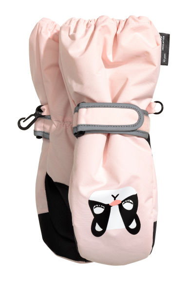 Ski mittens - Light pink - Kids | H&M CN 1