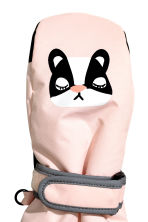 Ski mittens - Light pink - Kids | H&M CN 2