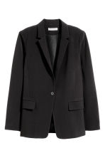 Straight-cut jacket - Black - Ladies | H&M 2