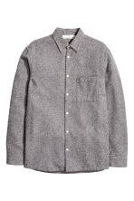 Camicia Relaxed fit - Grigio mélange - UOMO | H&M IT 2