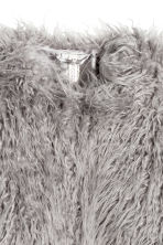 Faux fur jacket - Grey - Ladies | H&M GB 3