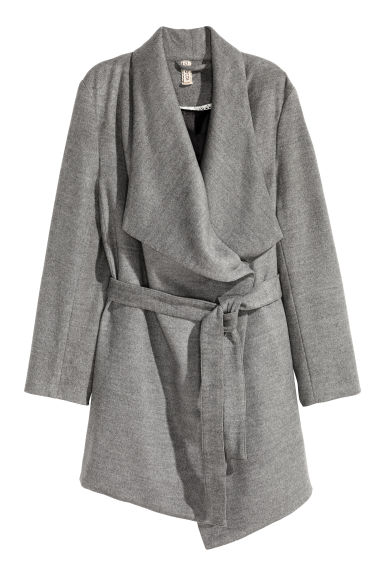 Short coat - Dark grey -  | H&M GB