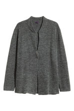 Cardigan in an alpaca blend - Dark grey marl - Men | H&M CN 2