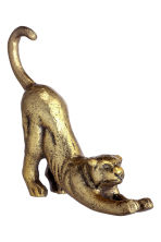 Small metal figurine - Gold/Panther - Home All | H&M CN 2
