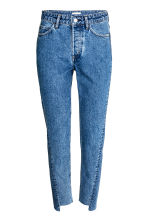 Straight High Jeans - Denim blue - Ladies | H&M GB 2