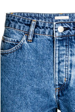 Straight High Jeans - Denim blue - Ladies | H&M CA 4