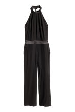 Halterneck jumpsuit - Black - Ladies | H&M CN 2