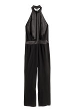 Halterneck jumpsuit - Black - Ladies | H&M CN 3