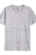 3-pack T-shirts Regular fit - Black/White/Grey marl - Men | H&M CN 3