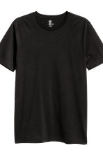 3-pack T-shirts Regular fit - Black/White/Grey marl - Men | H&M CN 4
