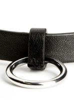 Choker and ring - Black -  | H&M 2
