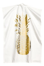 Tea towel - White/Pineapple - Home All | H&M CN 1
