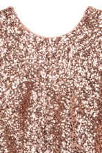 Sequined dress - Gold - Ladies | H&M CN 4