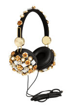 On-ear headphones - Black/Gold - Ladies | H&M CN 2