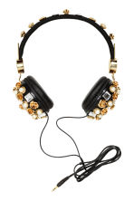 On-ear headphones - Black/Gold - Ladies | H&M CN 1
