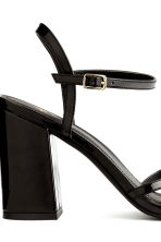 Strappy sandals - Black -  | H&M CN 5