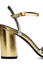 Strappy sandals - Gold/Silver -  | H&M CA 5