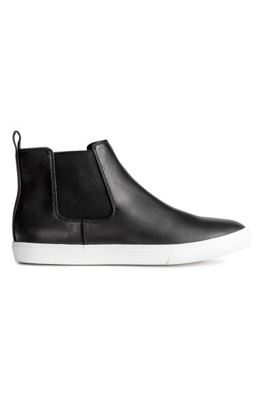 Hi-top trainers - Black - Men | H&M CN 1