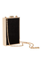 Rigid clutch bag - Black/Gold - Ladies | H&M GB 3