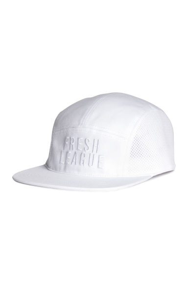 Cotton sports cap - White - Ladies | H&M CN 1