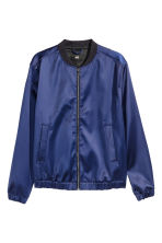 Bomber jacket - Navy blue - Men | H&M CN 2
