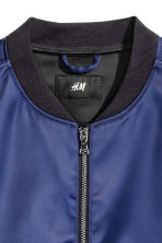 Bomber jacket - Navy blue - Men | H&M CN 3