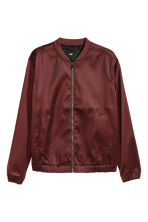 Bomber jacket - Burgundy - Men | H&M CN 2